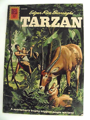 TARZAN- #127  Nov/Dec 1961  (Painted Cover)   VG+