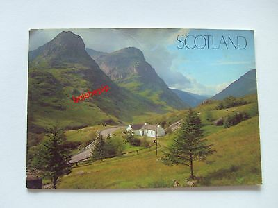 Pass of Glencoe, Scotland, Postcard
