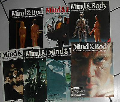 Mind & Body Illustrated Encyclopedia Part 1 To 7, Orbis Publishing 1971