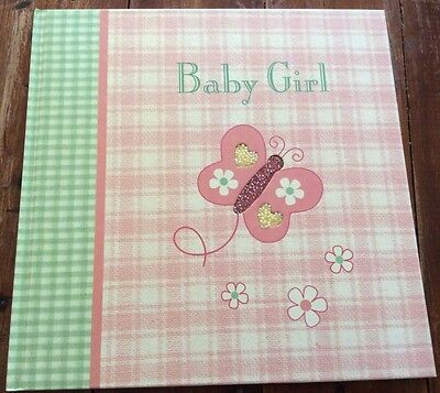 Havoc Baby Record Book Girl Memory Journal Butterfly Bead Cover Photos Writing
