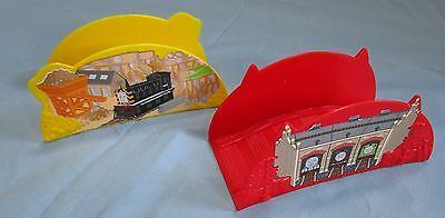 Thomas & Friends Racing Around Sodor Game Replacement Bridges - Red & Yellow