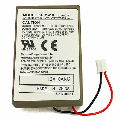 PS4 Playstation 4 Wireless Controller Replacement Battery Sony KCR1410 2000mAh