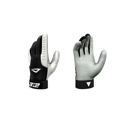 3N2 3810-0106-YL Pro Gloves, Black And White Young Large