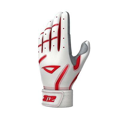 3N2 3820-0635-YL Pro Vice 1 White & Red, Large
