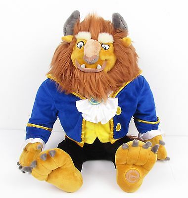Disney Store Exclusive Beauty And The Beast Jumbo Large Stuffed Plush Rare