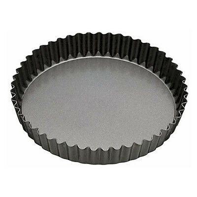 Master Class Fluted Flan Tin/Quiche Pan with Loose Base - 25 cm (10 inch)
