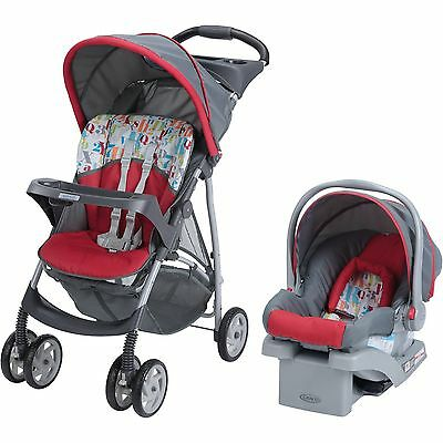 Kids Click Connect Travel System, with Click Connect 22 Infant Car Seat, Signal