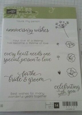 NEW SU Falling for You CM stamps