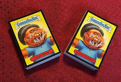 Garbage Pail Kids 2014 Series 2 Full Black Parallel Set - 132 Cards