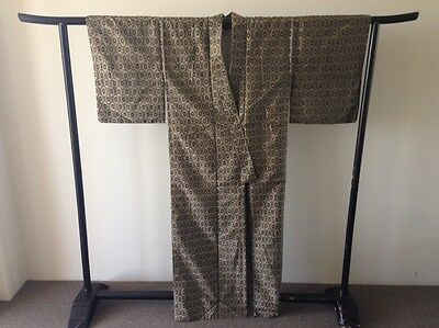 Silk Womens Vintage Japanese Kimono Robe One of a Kind Hand Made Costume