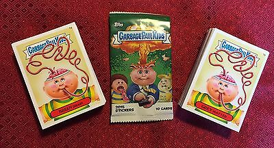 Garbage Pail Kids 2015 Series 1 Full Set - 132 Cards Plus Wrapper