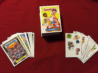 Garbage Pail Kids BNS 3 Set (MISSING #167b) + Scenes & Adam Bombing Subsets