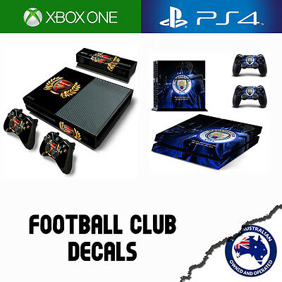 Console Sticker Decal Skins for Playstation 4 & Xbox One  - Football Club Skin