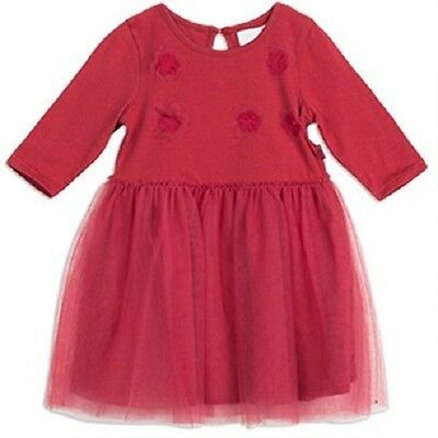 Pumpkin Patch Baby Girl Red Flower Tutu Dresses Sizes 3 months - 2 yrs BNWT
