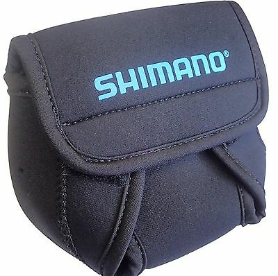 Shimano ANSC840A Neoprene Spinning Reel Cover Md Black