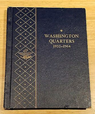 Washington Quarter Silver Complete Full Set 1932-1964 in Collector's Book