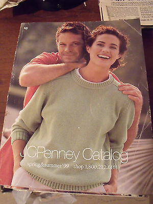 Vintage JCPenney Penneys Spring Summer 1999 Department Store Catalog