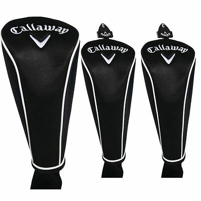 Callaway Premium wood head cover set - wood covers - 3 pieces