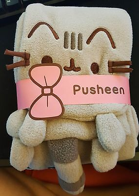 Pusheen Cat Subcription Box Exclusive Fleece Scarf - Brand New