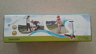 Mountain Buggy Freerider  Stroller Board-( Pink) and  Freerider connector 1
