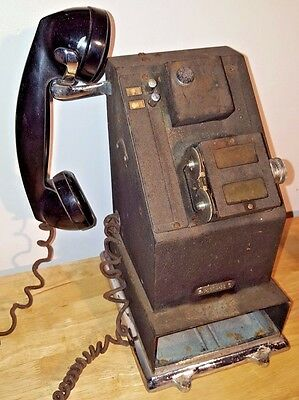 Antique NCR National Cash Register Credit Stamping Telephone Western Electric