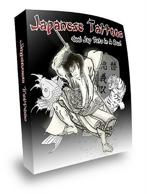 E Book Sale - Dazzling Japanese & Fairies And Angels Tattoos On Cd