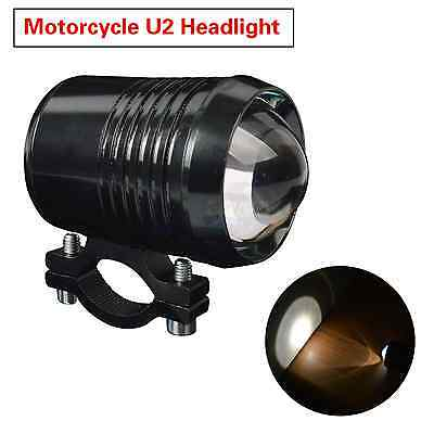 Motorbike Spotlight CREE 30W U2 LED Driving Fog Spot Light Headlight 12V Black