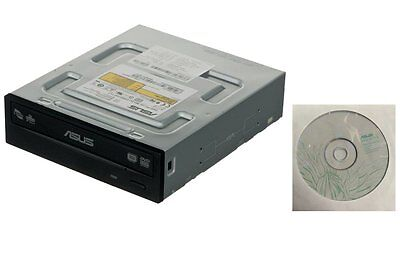 Asus 24X Internal SATA CD DVD RW Dual Layer Burner Re-Writer PC Desktop Drive