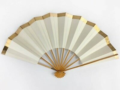 Vintage Japanese Geisha Odori 'Maiogi' Folding Dance Fan from Kyoto: MayIID