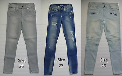 Womens True Religion Halle Mid Rise Super Skinny Jeans