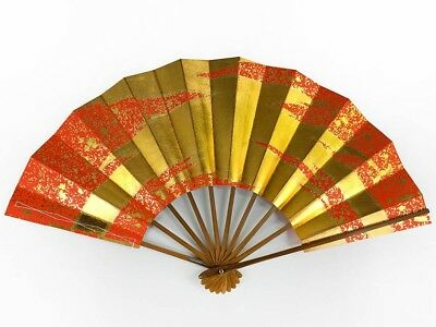 Vintage Japanese Geisha Odori 'Maiogi' Folding Dance Fan from Kyoto: MayIIL