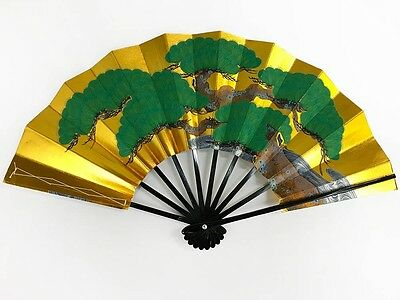Vintage Japanese Geisha Odori 'Maiogi' Folding Dance Fan from Kyoto: MayIIO