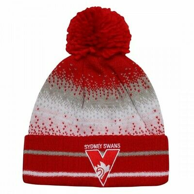 Sydney Swans Official AFL Youth Supporter Beanie