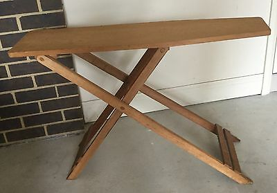 Vintage Retro Antique Rustic Kaori Ironing Board Display