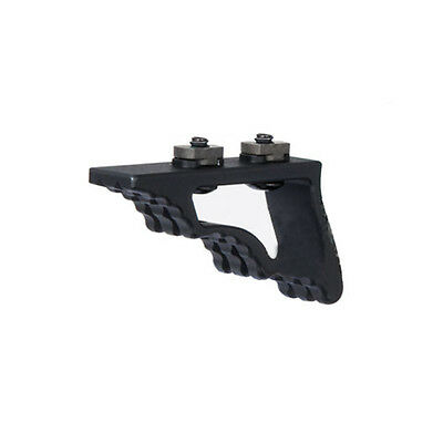 M-LOK Enhanced Angle Grip Foregrip Hand Stop for MLOK Forends Tactical Aluminum