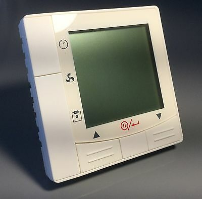 Programmable LCD Heat and Cool Thermostat with 3 speed Fan