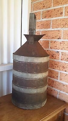 VINTAGE MILK CAN/CHURN  WITH SWING HANDLE  (Rare)