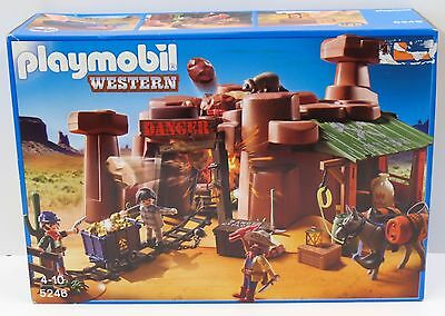 PLAYMOBIL 5246 - Goldmine mit Sprengkiste - NEU NEW OVP