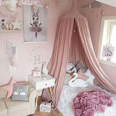 Baby Bedding Round Dome Bed Canopy Netting Bedcover Mosquito Net Curtain CF12
