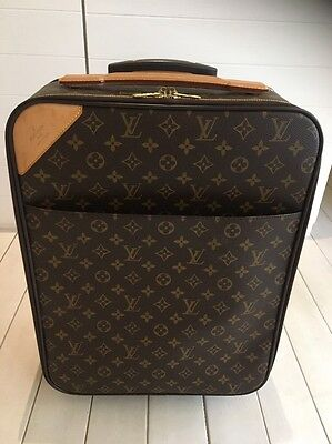 Authentic Louis Vuitton Pegase 45 Luggage Hand Carry