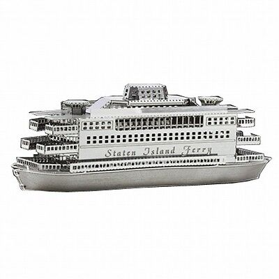 Metallic Nano Puzzle Staten Island Ferry TMN-07 mini model kit TENYO Japan