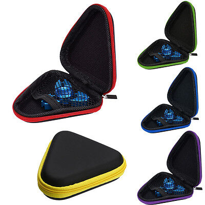 Gift For Fidget Hand Spinner Triangle Finger Toy Focus ADHD Autism Bag Box Case