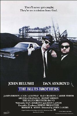 The Blues Brothers - Brand New Licensed Maxi Poster 91.5 x 61cm - John Belushi