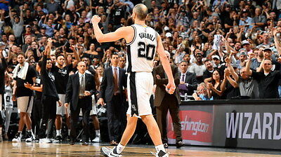 "011 Manu Ginobili - San Antonio Spurs GDP Super Star NBA 24""x14"" Poster"