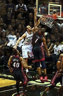 "002 Manu Ginobili - San Antonio Spurs GDP Super Star NBA 24""x36"" Poster"
