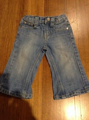Ouch Baby Jeans Size 0