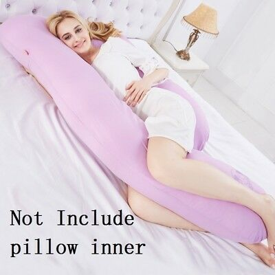 Pregnancy Cotton Pillow Maternity Pillow Soft Belly Pillows for Side Sleeper