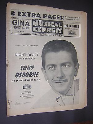 NEW MUSICAL EXPRESS. NOVEMBER 30th 1962. POPULAR MUSIC MAGAZINE.