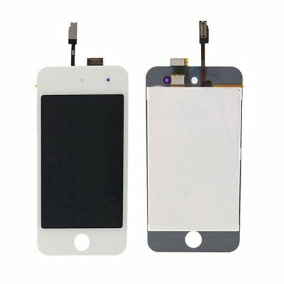 LCD Display Touch Screen Digitizer Replacement Assembly for White iPod Touch 4th