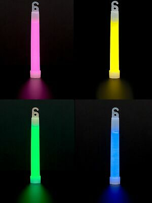 GLOW IN THE DARK PINK BLUE YELLOW LANYARD NEON STICK FESTIVAL PARTY 80s RAVE